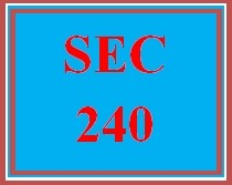 SEC 240 Week 5 Supply Chain And Asset Protection Plan