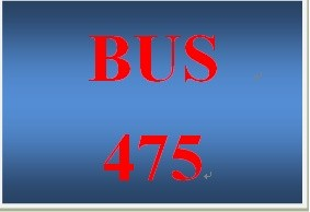 BUS 475 Week 4 Strategic Plan Part 3 Balanced Scorecard and Communication Plan