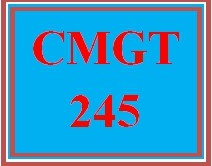 CMGT 245 Wk 1 Discussion: Information Governance