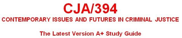 CJA 394 Week 3 Court Issues Analysis