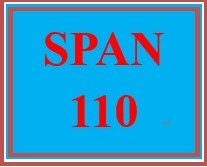 SPAN 110 Week 2 Asking for and Giving Directions in Spanish