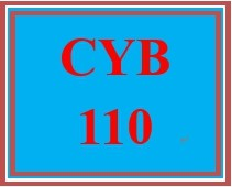 CYB 110 Week 1 Discussion Question: CIA Concepts