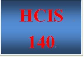 HCIS 140 Week 4 Weekly Summary