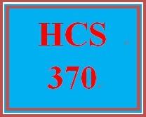 HCS 370 Wk 5 Discussion Board