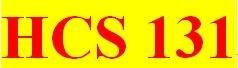 HCS 131 Week 2 participation Verbal Communication