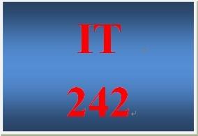IT 242 Week 3 Toolwire ® Lab