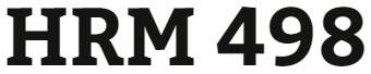 HRM 498 Week 2 Organizational Effectiveness Evaluation