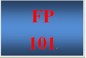 FP 101 Week 6 Investments Worksheet