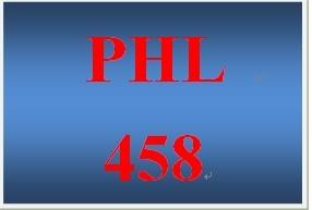 PHL 458 Week 5 Persuasive Communication Presentation