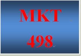 MKT 498 Week 3 Integrated Marketing Communication Competitive Advantage