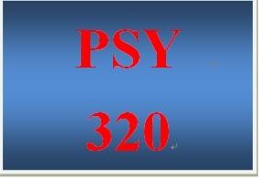 PSY 320 Week 3 Reward System Worksheet
