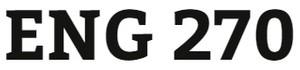ENG 270 Week 2 Reader Response Journal