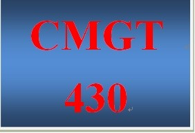 CMGT 430 Week 4 Individual Controlling Access