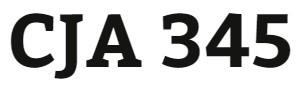 CJA 345 Week 2 Research Article Presentation