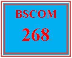 BSCOM 268 Week 1 Print Media Industry Worksheet