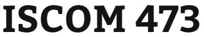 ISCOM 473 Week 5 e-Commerce Process