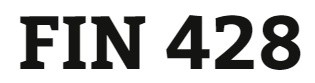 FIN 428 Week 4 Quiz