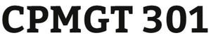 CPMGT 301 Week 1 Portfolio Management and Strategic Management Concepts and Organization Paper