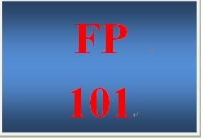 FP 101 Week 8 Quiz