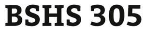 BSHS 305 Week 1 Program Orientation and Human Services Foundations Worksheet