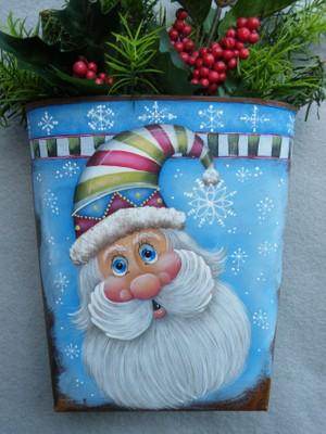 e326 Snowflake Santa
