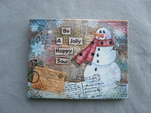 e495 Jolly Happy Soul Mixed Media Project
