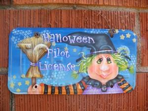 e578 Halloween Pilot License