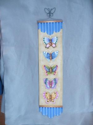 e546 Butterfly Banner
