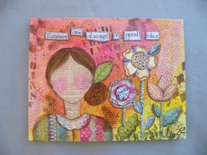 e545 A Good Idea Mixed Media
