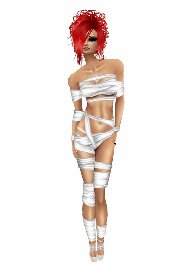 Halloween mummy outfit 5 colours