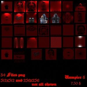 Big Pack - Vampire-Textures 1-8