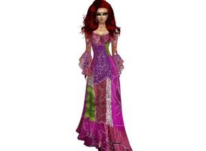 Purple Gipsydress long