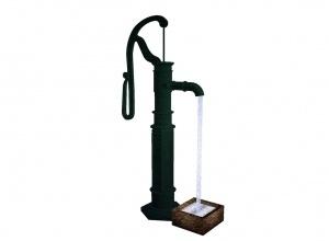 Water pump vintage mesh