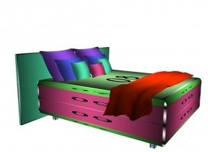 Box bed MESH