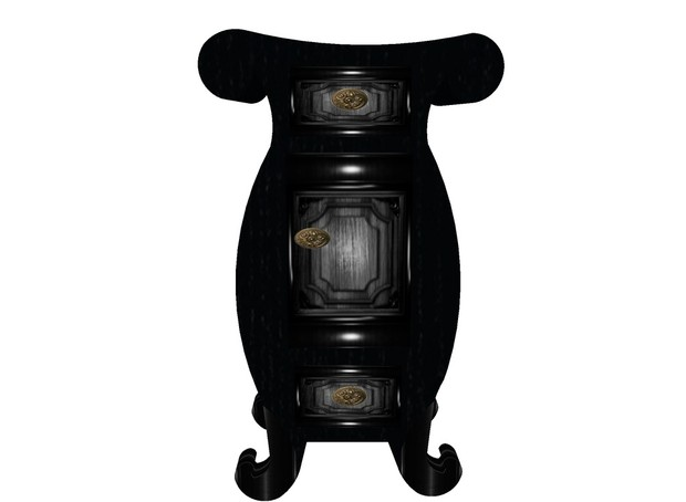 Baroque - Gothic Bedside Table /chevet baroque