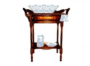 Washstand antique MESH