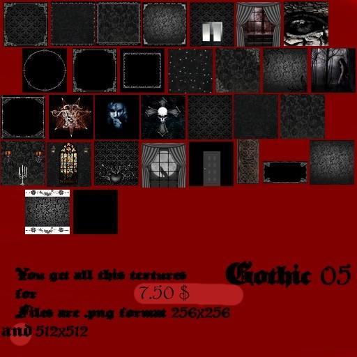 Gothic5 Roomtextures