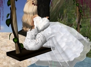 White Weddingdress