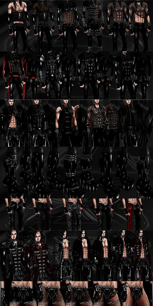 Big Male Clothes Pack  Sold: 0/6