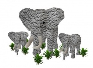 African Elephant MESH