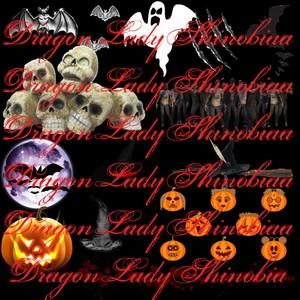 Halloween addons psd