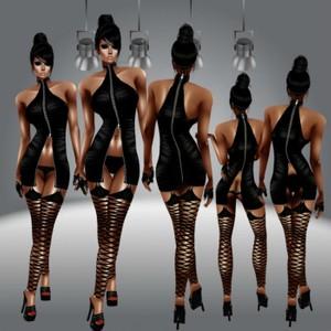 Zipper dress GA-AP