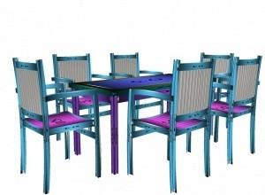 Dining set V2 mesh