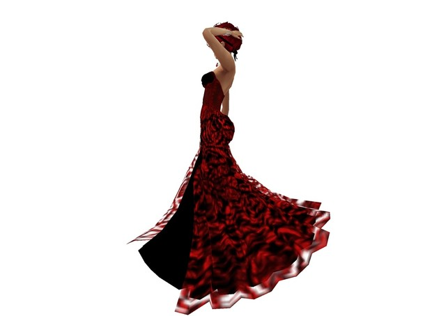 Lacedress red black
