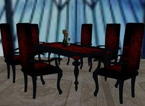 Baroque Table Set Mesh