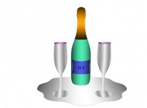 Champagne Set MESH