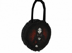 Round gothic bag
