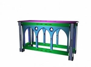 Gothic altar mesh