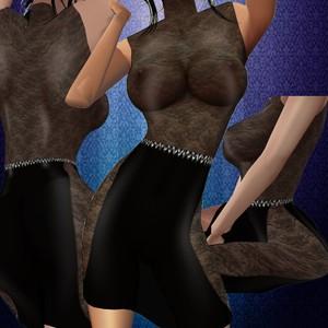 Black sexy bodysuit