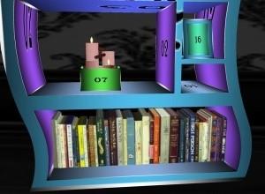 (Halloween) bookshelf
